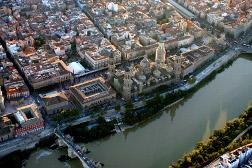 Panorámica Zaragoza en Aragón