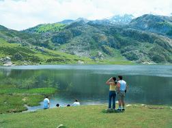 Covadonga en Asturias