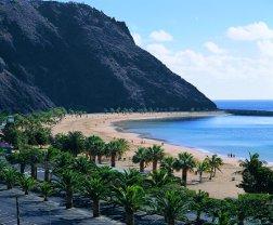 Playa Teresitas San Andrés en Canarias