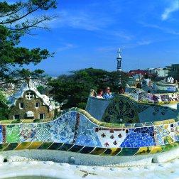 Parque Guell en Cataluña