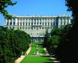 Palacio Real en Madrid