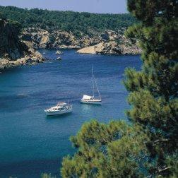 Cala Portinaxt en Baleares