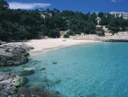 Playa Condesa en Baleares