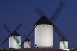 Molinos Campos Criptana en Castilla-La Mancha