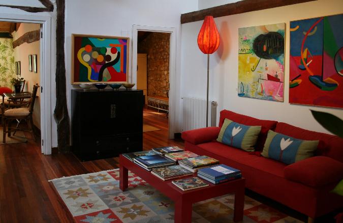 Rincón con sofa 1ª Planta