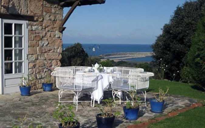 Vista exterior Casa Landarte