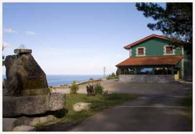 Vista del exterior Casa Pikua