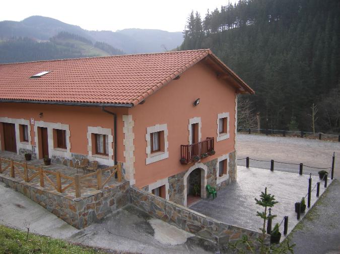 Vista exterior Agroturismo Ikestei