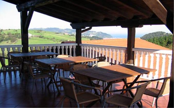 Vista exterior Casa Landarbide
