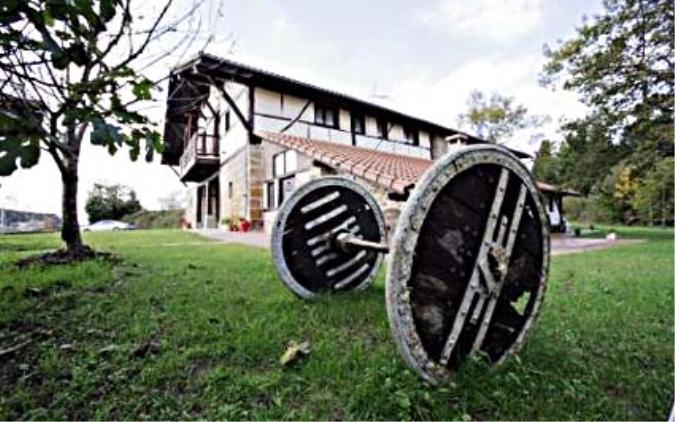 Vista exterior Casa Pagaigoikoa