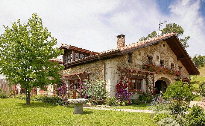 Vista exterior Casa Rural Ea Astei