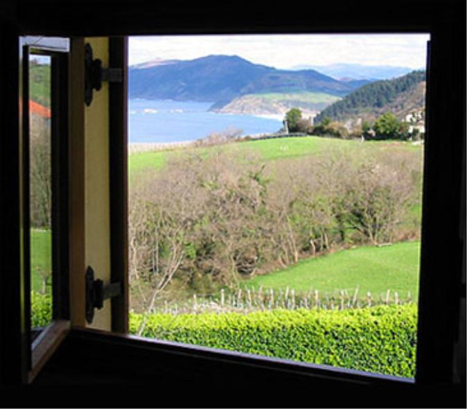 Vista exterior Epotx Etxea