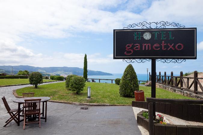 Vista exterior Hotel Gametxo