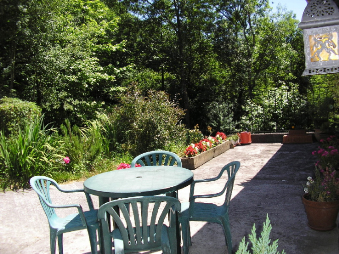 Vistas de la terraza Casa Naera Haundi