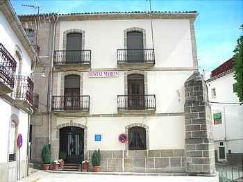 Hostal MartÍn in Baños de Montemayor (Cáceres)