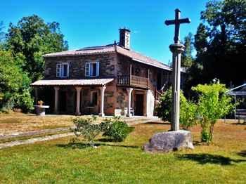 Casa Madriñán en Vila de Cruces (Pontevedra)