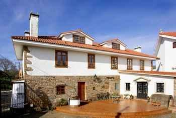 Casa Rural Mar De Queo em Carballo (A Corunha)