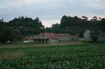 Casa Teillor en Melide (La Corogne)