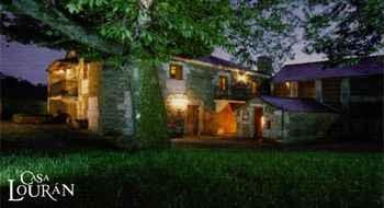 Casa Lourán em Monfero (A Corunha)
