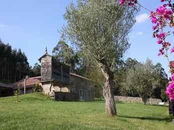 A Casa Da Torre Branca em Santiago de Compostela (A Corunha)