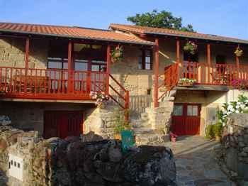 A Casa Da Eira in Nogueira de Ramuín (Ourense)