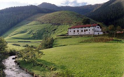Lazkao Etxe in ZALDIBIA (Guipúzcoa)