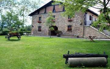 Casa Rural Jesuskoa en Zumaia (Guipúzcoa)
