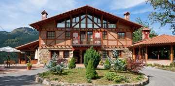 Hotel Spa  Etxegana in Zeanuri (Biskaya)