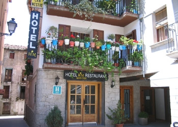 Hotel Mestre en EL PONT DE SUERT (Lérida)