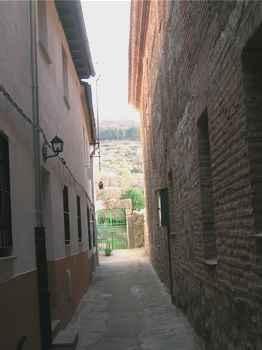 La Calleja em Hervás (Cáceres)